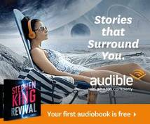 Audible.com Banner ad