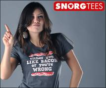 Snorg Tees Display ad