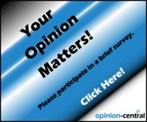Opinion-central Display ad