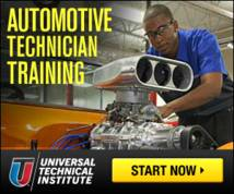 Universal Technical Institute Banner ad