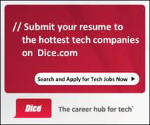 Dice Display ad