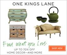 One Kings Lane Banner ad