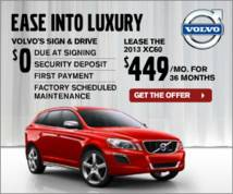 Volvo Display ad