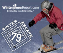 Wintergreen Resort Banner ad