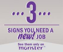 Monster.com Display ad