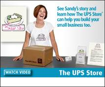 The Ups Store Display ad