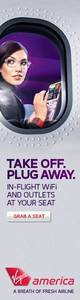 Virgin America Display ad