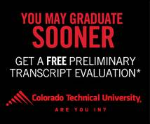 Colorado Technical University Display ad