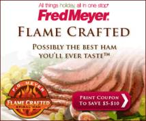 Fred Meyer Display ad