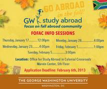 George Washington University Display ad