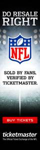Ticketmaster Banner ad