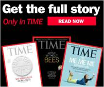 Time Magazine Display ad