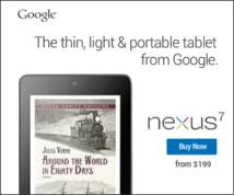 Nexus 7 Display ad