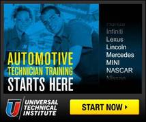 Universal Technical Institute Display ad
