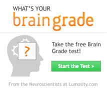 Lumosity Display ad