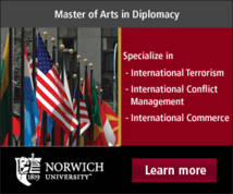 Norwich University Display ad