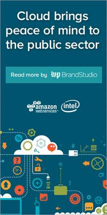amazon web services Banner ad