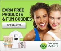 Garnier Display ad