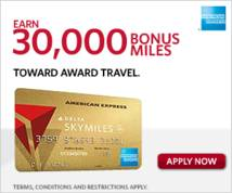 American Express Display ad