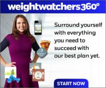 Weight Watchers Display ad
