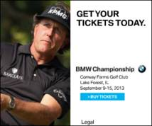 Bmw Championship Display ad