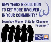United Way Display ad