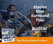 Audible.com Display ad