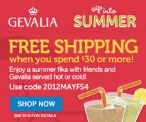 Gevalia Display ad