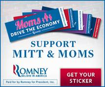 romney for president Display ad