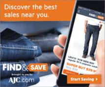 Find & Save Display ad