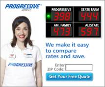 Progressive Direct Display ad