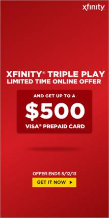 Xfinity Display ad