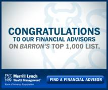 Merrill Lynch Display ad