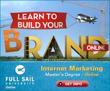 Full Sail University Display ad