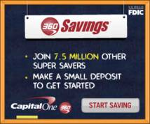 Capital One Display ad