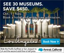 Amtrak Display ad