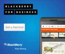 Blackberry Display ad