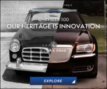 Chrysler 300 Banner ad