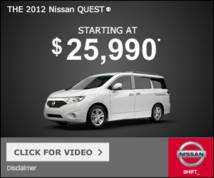 Nissan Display ad