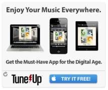 Tune Up Banner ad
