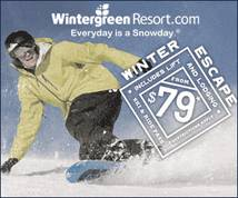 Wintergreen Resort Display ad