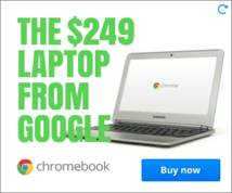 Chromebook Display ad
