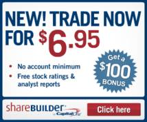 Sharebuilder Display ad