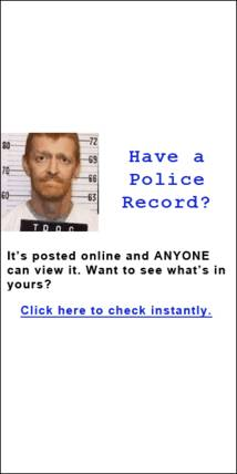 Criminal History Records Online Public Records Search