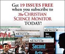 The Christian Science Monitor Display ad