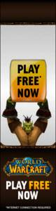 World Of Warcraft Banner ad