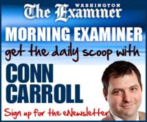 The Washington Examiner Display ad