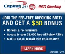Capital One Banner ad