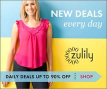 Zulily Display ad