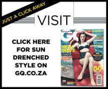 Gq Magazine Display ad